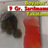 Boyabat'ta 9 Gram Kubar Yakalandı…