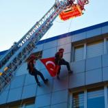 """Sinop'ta İtfaiye Haftası Kutlamaları """"NEFES"""" Kesti…"""