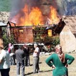 Boyabat Dodurğa Köyünde Feci Yangın…