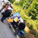 Pat Pat Traktörü Devrildi 3 Yaralı…