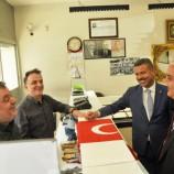 Boyabat'ta Esnafa Şanlı Türk Bayrağı Hediye Edildi…