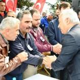 Mehmet Ersoy Boyabatlı Şehit Askerin Cenaze Törenine Katıldı….