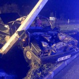 Otomobil Elektrik Direğini Biçti, 1 Ölü, 3 Yaralı…