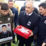 Mehmet Ersoy Bartın'da Şehit Cenazesine Katıldı…
