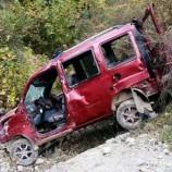 İş Makinesinin Uçtuğu Yerden , Otomobil Uçtu, 1 Ölü…