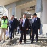 Sinop Valisi Köksal Şakalar 112 Acil Çağrı Merkezi İnşaatında İncelemelerde Bulundu!!!