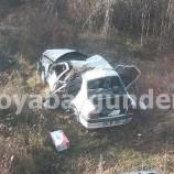 Boyabat – Sinop Yolunda Feci Trafik Kazası, 5 Yaralı…