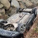 Otomobil Su Kanalına Uçtu: 1 Yaralı…