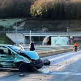 Tünel Girişinde İki Otomobil Çarpıştı, 4 Yaralı…