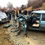 Otomobilde Sıkışan Sürücünün Yardımına İtfaiye Ekipleri Koştu…
