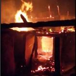 Sobadan Çıkan Yangın, Evi Kül Etti…