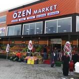 Õzen Market 2. Yeni Şubesi İle Yıldız Mahallesinde Sizlerin Hizmetine Açıldı…