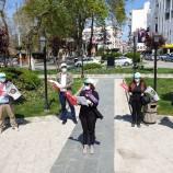 Sinop'ta 1 Mayıs Emek Ve Dayanışma Günü Münasebetiyle Uğur Mumcu Meydanında Basın Açıklaması Düzenledi…