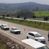 Sinop'ta Polis Yolları Kesti, COVİD-19 Sıkı Denetim…