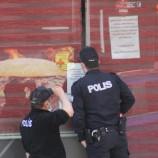 Polis, traşı kesmeye gitti ama!…