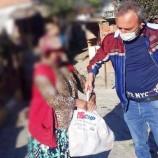 Durağanda CHP Kapı Kapı, Yardım Kolisi Dağıtıyor…