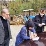Boyabat'ta Nakit 1000 TL Yardımlar Köylere Ulaştırılıyor..