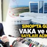 Sinop'ta Vaka Ve Ölüm Sayıları Açıklandı…