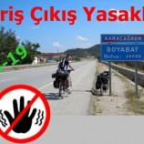 """Sinop'ta İlçeler Arası Giriş Çıkış Yasağı """"RESMEN"""" Başladı…"""