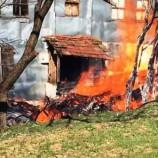 Köyde Korkutan Yangın , Bir Ev Kül Oldu…