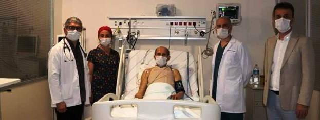 Sinop Atatürk Devlet Hastanesinde 30. Koroner Bypass (Açık Kalp Ameliyatı) başarılı bir şekilde gerçekleşti…