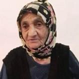 Ilıca köyünden Ayşe Şen Hanımefendi Vefat Etti..