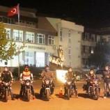 Sinop'ta Motorcular Kan Bağışı Yaptı…
