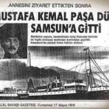 Bilinmeyen Tarihi Gerçek, ATATÜRK İlk Önce Sinop'a Çıktı…