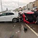 Sinop Samsun Yolunda Feci Kaza 5 Yaralı…