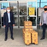 """Boyabat Ülkü Ocaklarından Devlet Hastanesine """"SU"""" Desteği…"""