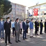 Boyabat'ta 19 Mayıs Atatürk' Ü Anma Gençlik Ve Spor Bayramı Çelenk Sunma Programı Yapıldı..