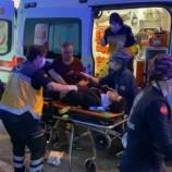 Alkollü Sürücü Kontrolü Kaybetti 2 Yaralı…