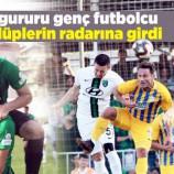 Sinop'un Gururu Genç Futbolcu , Büyük Kulüplerin Radarına Girdi…