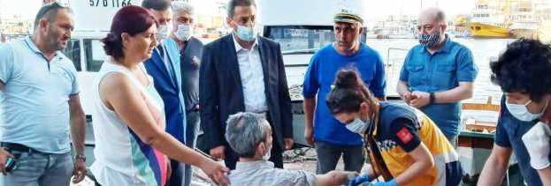 """Sinop Valisi """"CAN"""" Kurtardı…"""