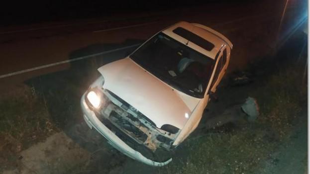 Bektaş Mevkiinde trafik kazası 1 yaralı..