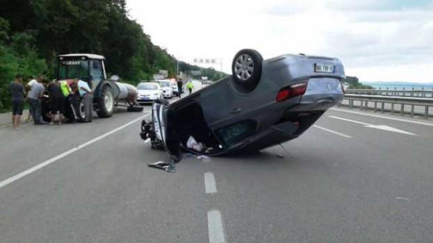 Bu Otomobilden Yara Almadan Sağ Çıktı…