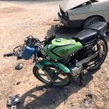 Otomobil İle Motosiklet Kafa Kafa Çarpıştı, 3 Yaralı…
