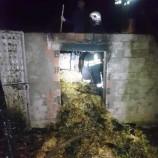 Boyalı Köyünde Yangın…