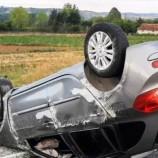 Taşköprü – Boyabat Yolunda Otomobil Takla Attı, 1 Yaralı….