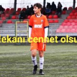 ACI Haber ; Genç Futbolcu Yaşam Mücadelesini Kaybetti.