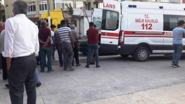 Boyabat'ta Görünmez Kaza, Yaşlı Adam Kafasını Yardı…