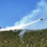Durağan Orman Yangınına Helikopterle ve Uçakla Müdahale Ediliyor…