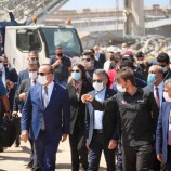 Vekil Nazım Maviş Lübnan'da ….
