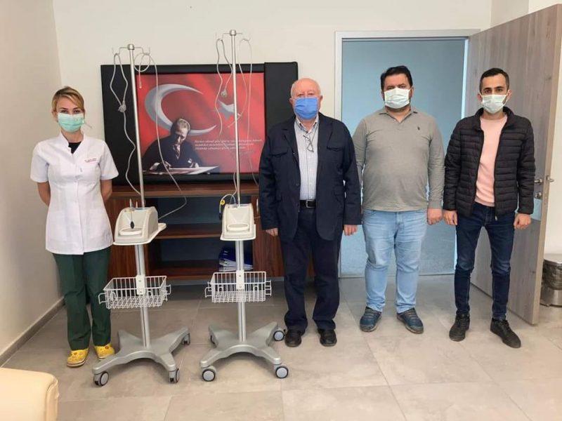 Esnaf Kefalet Kooperatifinden Hastaneye Solunum Cihazı