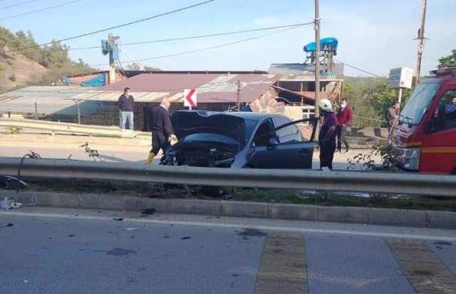 Pazar Yokuşunda Trafik Kazası, 1 Yaralı