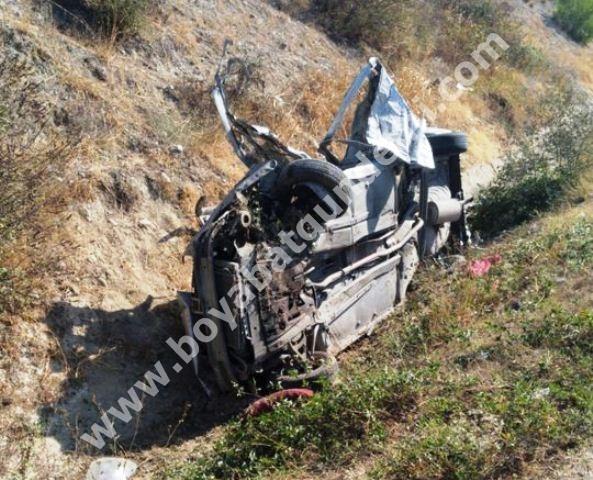 Boyabat – Durağan Yolunda Kaza 1 Ölü  2 Yaralı