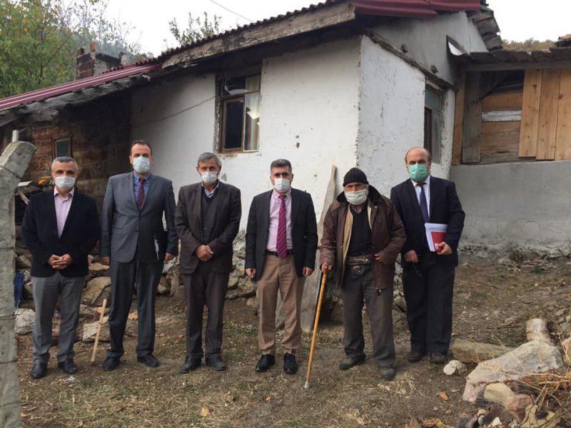 Kaymakam Çetin Köy Ziyaretlerine Devam Ediyor