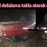 Türkeli – Ayancık yolundaki kazada 1 kişi ağır yaralandı…