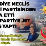 """Saraydüzü AK Partide """"DEPREM"""" Gibi İstifa …."""