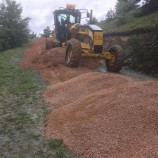 Boyabat Köy Yollarında Yapım Çalışmaları Devam Ediyor…